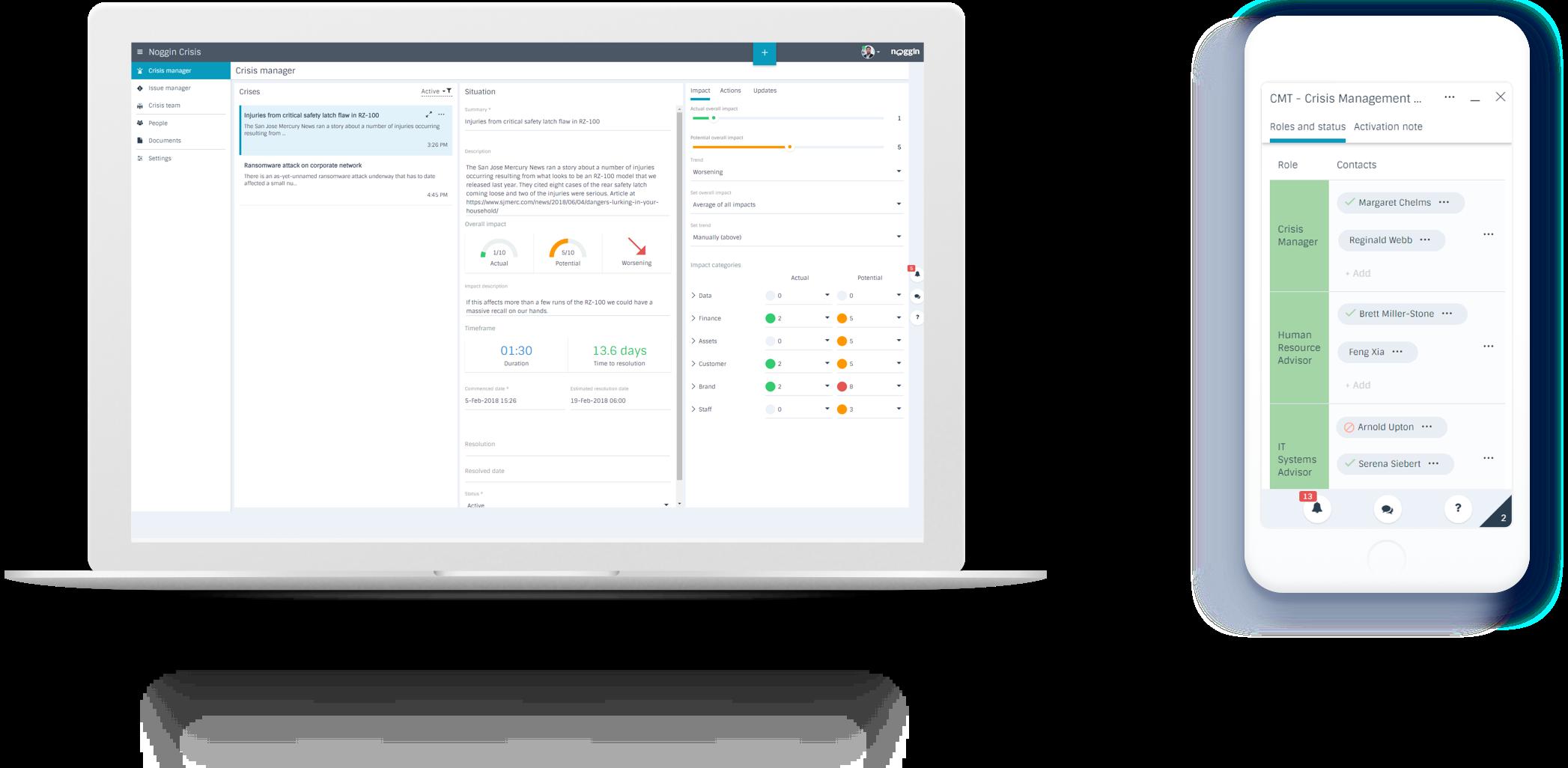 Introducing Noggin Crisis - Critical Issues & Crisis Management Software