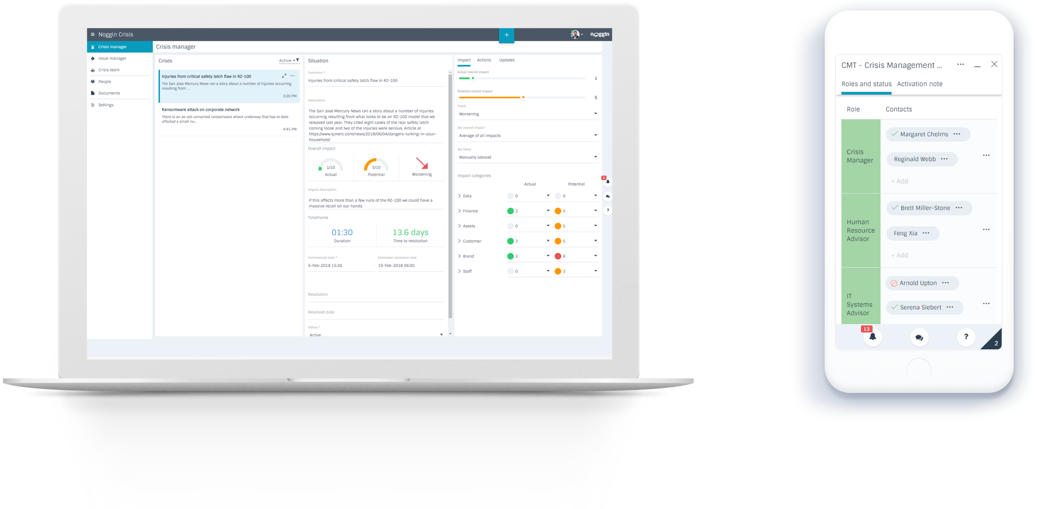 Introducing Noggin Crisis - Critical Issues & Crisis Management Software