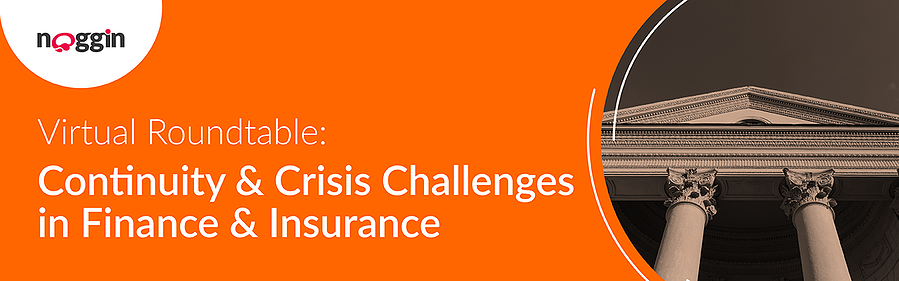Webinar - Continuity & Crisis Challenges in the Finance & Insurance Industry - Zoom 1280x400px