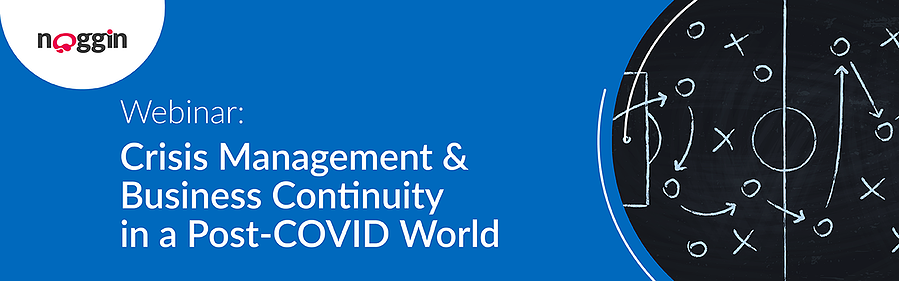 Webinar - Crisis Management & Business Continuity in a Post-COVID World - 24 November 2020