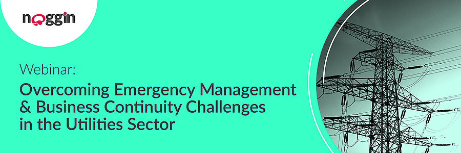 Webinar: Overcoming Emergency Management & Business Continuity Challenges in the Utilities Sector - 12 November 2020