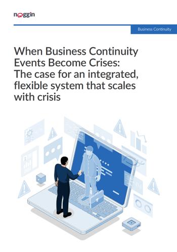 When Business Continuity Events Come Crises