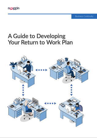Developing Your Return to Work Plan