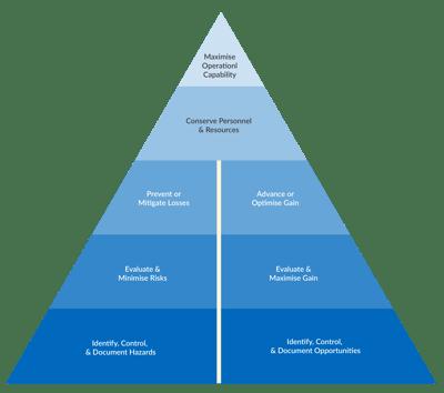 The Goals of Risk Management - Visualisation