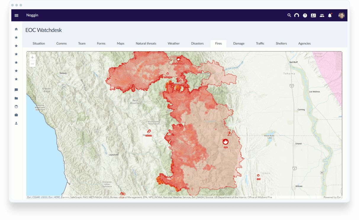 Visualize Locations of Incidents, People & Assets