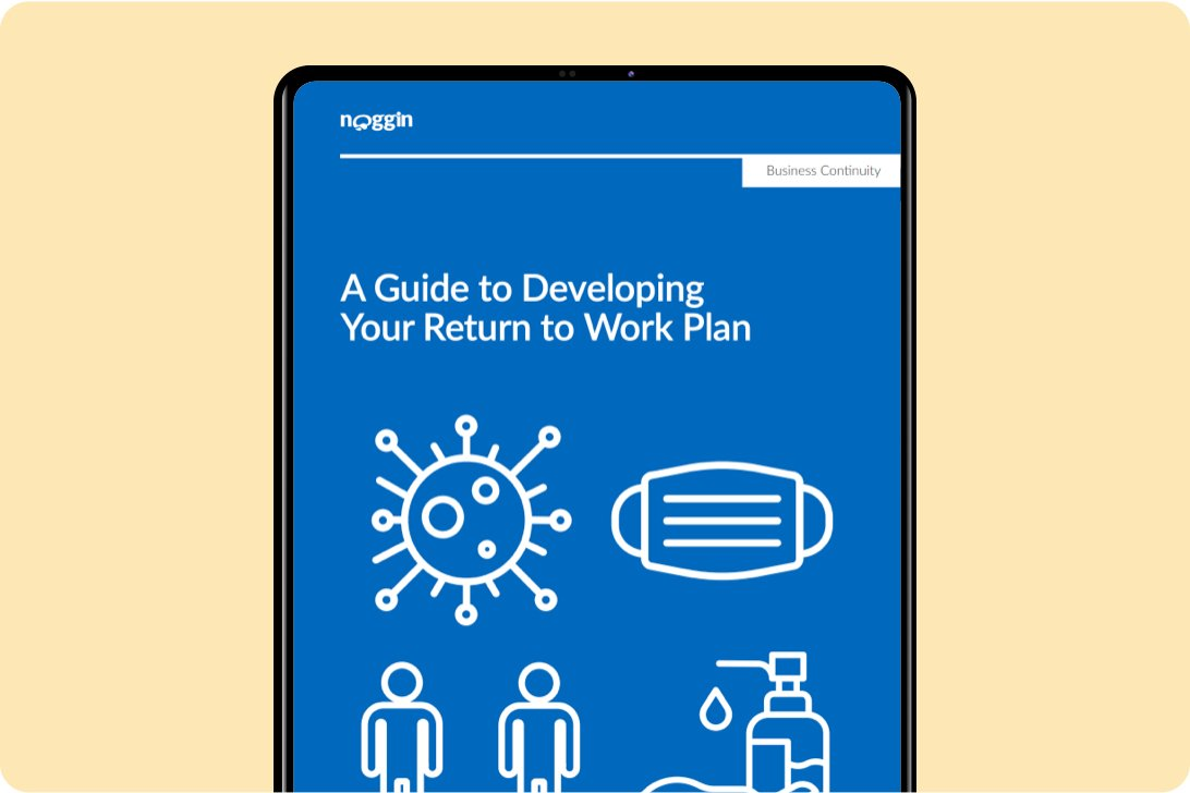 A guide to developing your covid-19 return to work plan